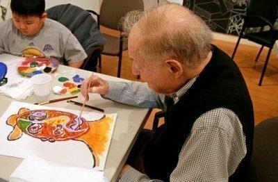 Арт-терапия в работе с пожилыми людьми